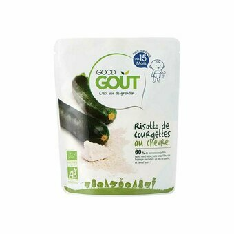 Good Gout Risotto Courgettes Chèvre 15m