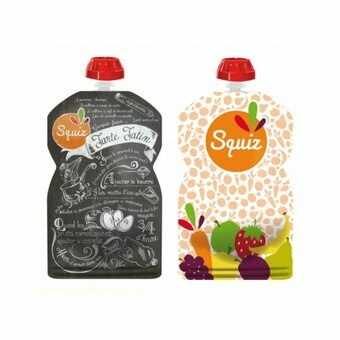 2 gourdes Fruits Couleur SQUIZ 130ml