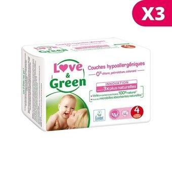 Love & Green 3X46 couches T4 7/14 kg
