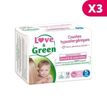 Love & Green 3x40 couches T5 12/25 kg