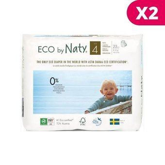 Naty 2x22 Culottes Taille 4 - 8/15kg