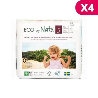 Naty 4x20 Culottes Taille 5 - 12/18kg