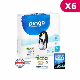 Pingo 6x36 Couches Taille 5 Junior (11-25kg)