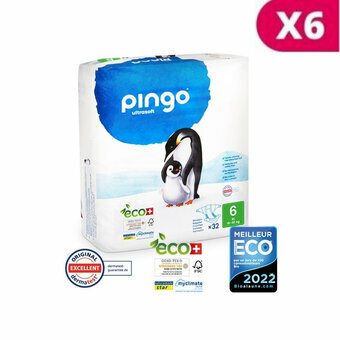 Pingo 6x32 Couches Taille 6 XL (15-30kg)