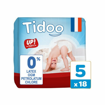 TIDOO 18 Culottes Taille 5 Large (12-18kg)