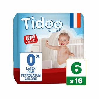 TIDOO 16 Culottes Taille 6  XLarge (16-30kg)