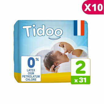 Tidoo 10x31 couches T2 / Small (3-6kg)
