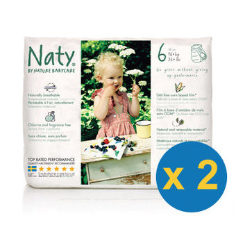 Naty 2x18 Culottes Taille 6 - +16kg