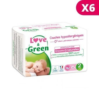 Love & Green 6x36 couches T2 3/6 kg