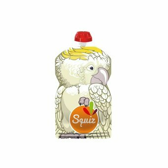 SQUIZ Gourde x 1 Cacatoes 130ml