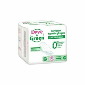 Love & Green - 12 Serviettes super