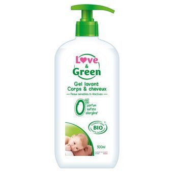 Love & Green Gel lavant - 500ml