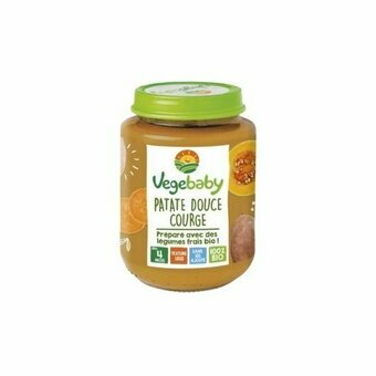 Vegebaby Patate douce Courge 4 mois