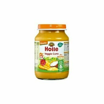 Holle Petit pot Veggie Curry 6m