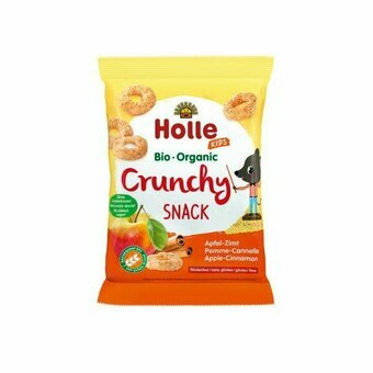 HOLLE Crunchy pomme cannelle 3 ans