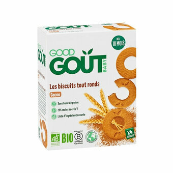 Good Gout Biscuits ronds cacao 10 mois
