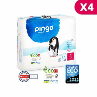 Pingo 4 x 40 Couches Taille 4 Maxi (7-18kg)