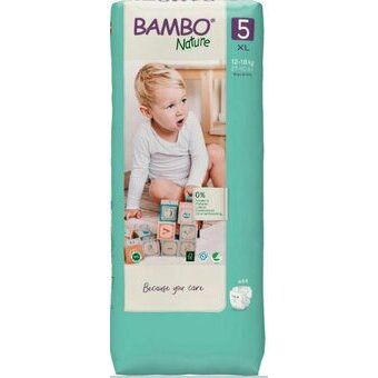 Bambo Nature 44 Couches Taille 5 (12-18kg)