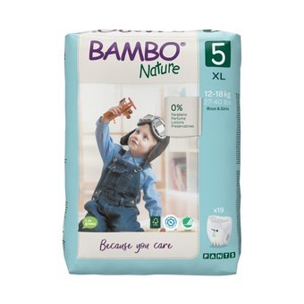 Bambo Nature 19 Culottes Taille 5 (12-18kg)