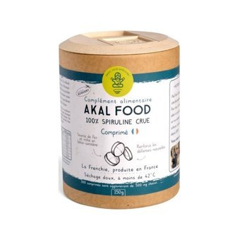 Frenchie Spiruline comprimés 150g Akal Food