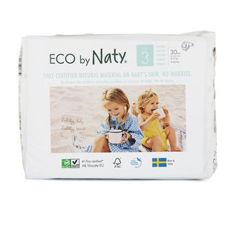 Naty 30 Couches éco Taille 3 - 4/9kg