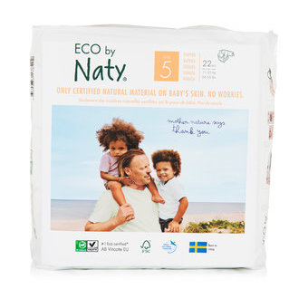 Naty 22 Couches éco Taille 5 - 11/25kg